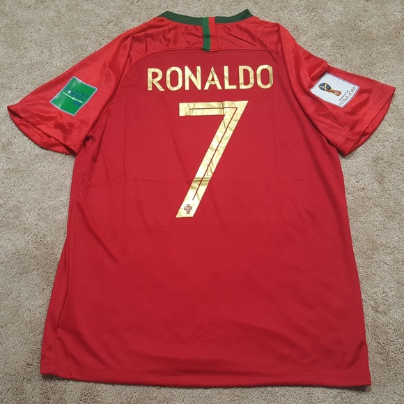 quality design 6f5b6 6c95c Ronaldo Portugal World Cup Jersey New NWT